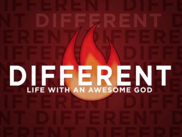 Different: Life with an Awesome God
